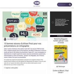 10 bonnes raisons d'utiliser Prezi pour vos présentations en infographie