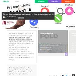 Survol des outils pour réaliser des présentations innovantes
