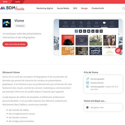 Visme : un outil pour créer des présentations interactives et des infographies - BDM/tools