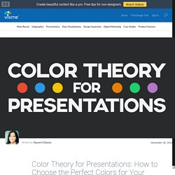 Color Theory for Presentations: How to Choose the Perfect Colors for Your Designs