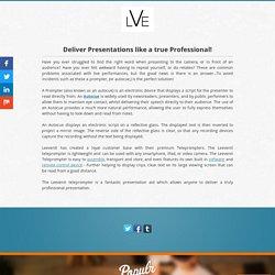 Deliver Presentations like a true Professional!