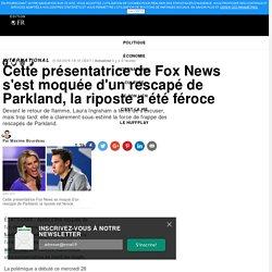 Cette présentatrice de Fox News s'est moquée d'un rescapé de Parkland, la riposte a été féroce
