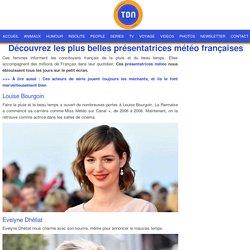 Découvrez les plus belles présentatrices météo françaises