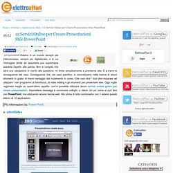 12 Servizi Online per Creare Presentazioni Stile PowerPoint