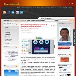 Visme: strumento gratuito per la creazione di presentazioni, infografiche e banner