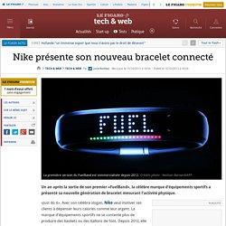 Nike présente son nouveau bracelet connecté