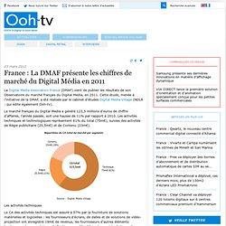 La DMAF présente les chiffres de marché du Digital Média en 2011