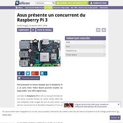 Asus présente un concurrent du Raspberry Pi 3