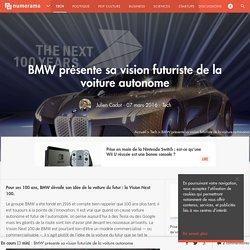 BMW présente sa vision futuriste de la voiture autonome - Tech