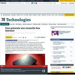 Free présente une nouvelle box Internet