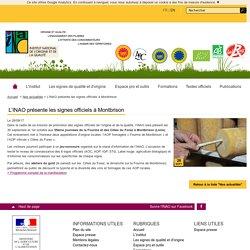 INAO 28/09/17 L'INAO présente les signes officiels à Montbrison