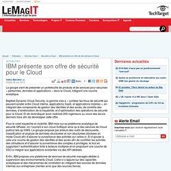 IBM présente son offre de sécurité pour le Cloud