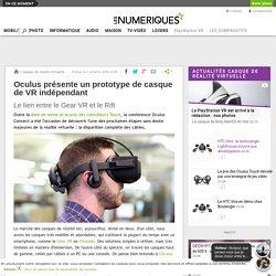 Oculus présente un prototype de casque de VR indépendant