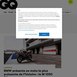 BMW présente sa moto la plus puissante de l'histoire : la M 1000 RR