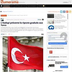 L'Hadopi présente la riposte graduée aux Turcs