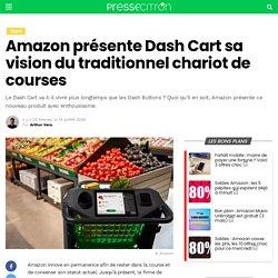 Amazon présente Dash Cart sa vision du traditionnel chariot de courses