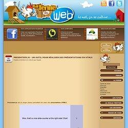 Presenteer.js - Un outil pour réaliser des présentations en HTML5