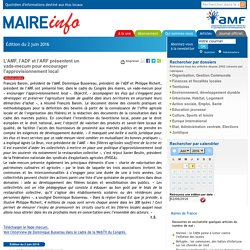 L'AMF, l'ADF et l'ARF présentent un vade-mecum pour encourager l'approvisionnement local- Maire-info / AMF