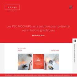 Les PSD MOCKUPS, une solution pour présenter vos créations graphiques