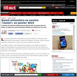 Qwant présentera sa version «Junior» en janvier 2015