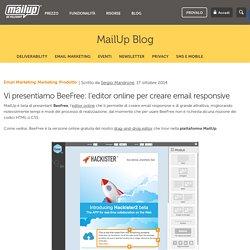 Vi presentiamo BeeFree: l'editor online per creare email responsive