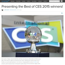 Best of CES 2015 winners!