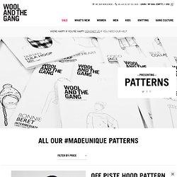 Presenting Patterns