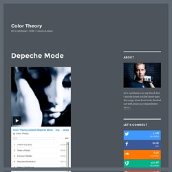Color Theory presents Depeche Mode - A Tribute