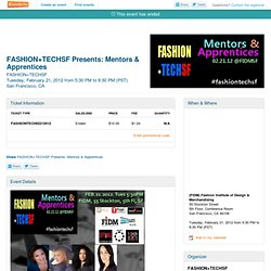 FASHION+TECHSF Presents:... - Eventbrite