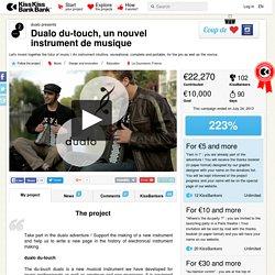 dualo presents Dualo du-touch, un nouvel instrument de musique