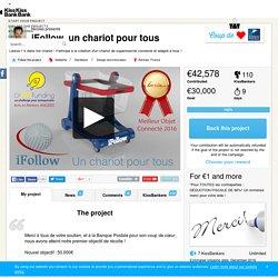 Nicolas presents iFollow, un chariot pour tous — KissKissBankBank