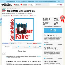 Maker Faire Saint Malo presents Saint Malo Mini Maker Faire