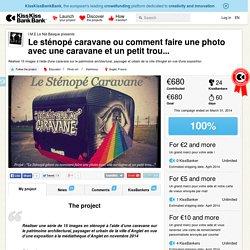 I.M.E Le Nid Basque presents Le sténopé caravane ou comment faire une photo avec une caravane et un petit trou...