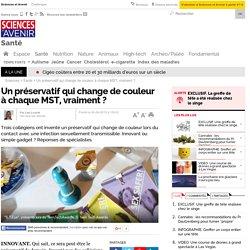 Un préservatif qui change de couleur à chaque MST, vraiment ?