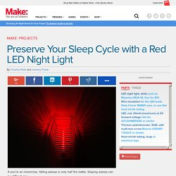 Preserve Your Sleep Cycle with a Red LED Night Light