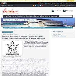 Préserver la vie privée et respecter l'économie du Web : nouvelle extension MyTrackingChoices à tester avec Firefox