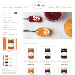 Fruit Spreads - Preserves & Marmalade