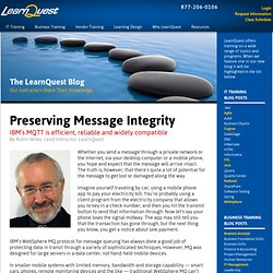 Preserving Message Integrity