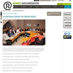 Christian Teyssèdre réélu à la présidence de Rodez Agglomération- Rodez Agglomération