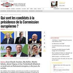 Qui sont les candidats à la présidence de la Commission européenne?
