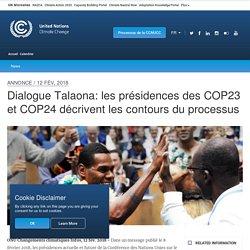 Dialogue Talaona: les présidences des COP23 et COP24 décrivent les contours du processus