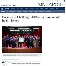 President's Challenge 2019 to focus on mental health issues, Singapore News
