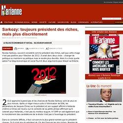 Sarkozy: toujours président des riches, mais plus discrètement