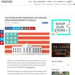 The Wines Every President Has Served From Eisenhower To Obama