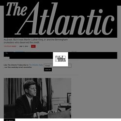 The Day President Kennedy Embraced Civil Rights—and the Story Behind It - The Atlantic