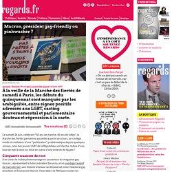 Macron, président gay-friendly ou pinkwasher