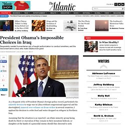 President Obama's Impossible Choices in Iraq