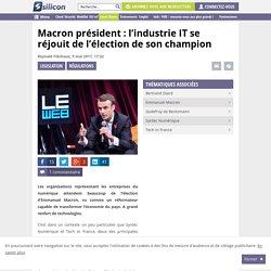 Macron président : l'industrie IT se réjouit de l'élection de son champion