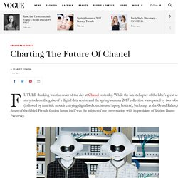 Chanel President Of Fashion Bruno Pavlovsky on See Now Buy Now and Ecommerce