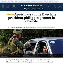 Après l'assaut de Daech, le président philippin promet la sévérité